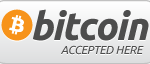 We accept bitcoins and altcoins